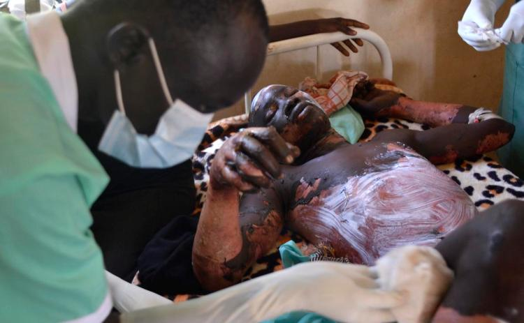 South Sudan Fuel Tanker Explosion